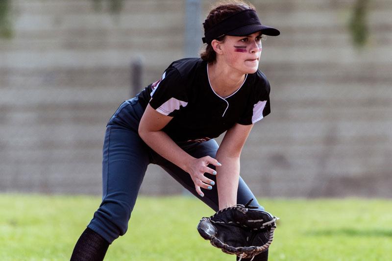 Female-Softball-Player
